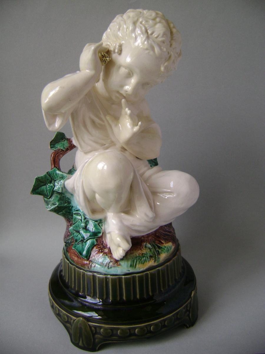 Majolica - Léon Sazérat, Limoges (circa 1870)