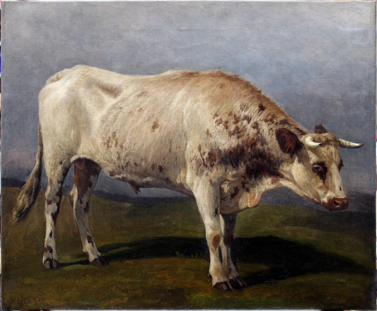 August Friedrich Schenck (1828 – 1901) Huile sur toile signé