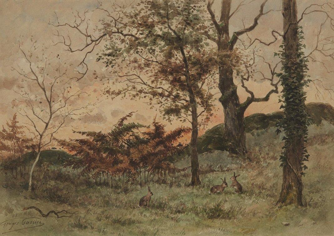 Georges Gassies (1829-1919) École de Barbizon
