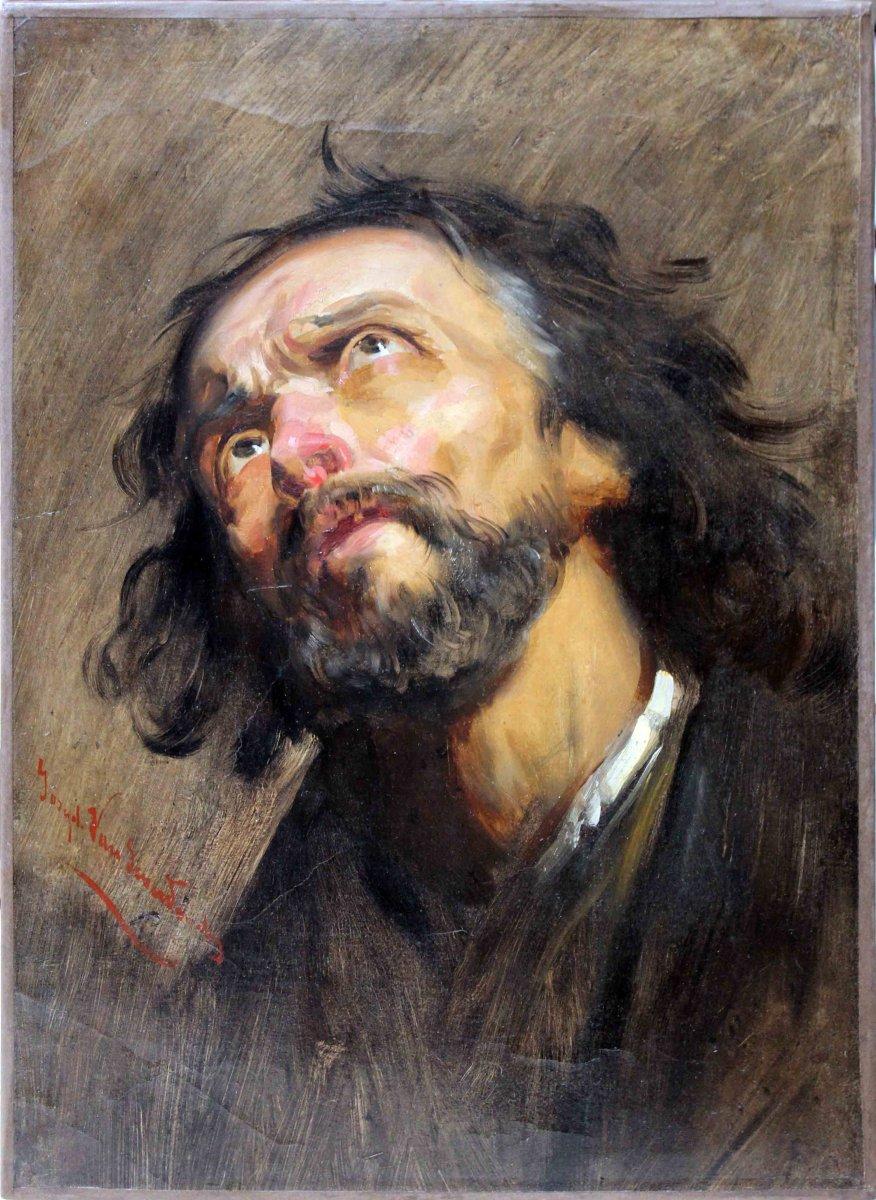 Portrait Of Three Quarter Man