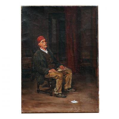 Walter Biddlecombe (1855-1903) English School 19th Century