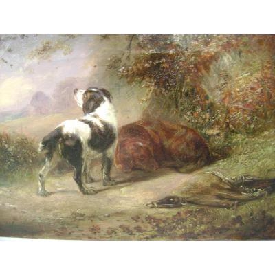 J. Clary datée 1832, École Anglaise 19ème Siècle