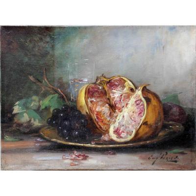 Eugène-ferdinand Parisy (1849-1916) Oil On Canvas Signed