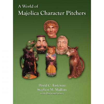 A Wold Of Majolica Character Pitcher