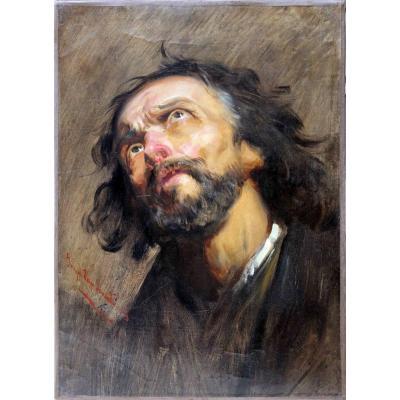 Portrait D'homme De Trois-quarts