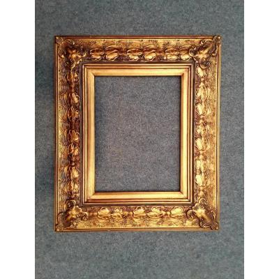 Cadre doré ''Art nouveau''