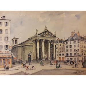 Maurice Falliès (1883-1965) ''Notre-Dame De Lorette''
