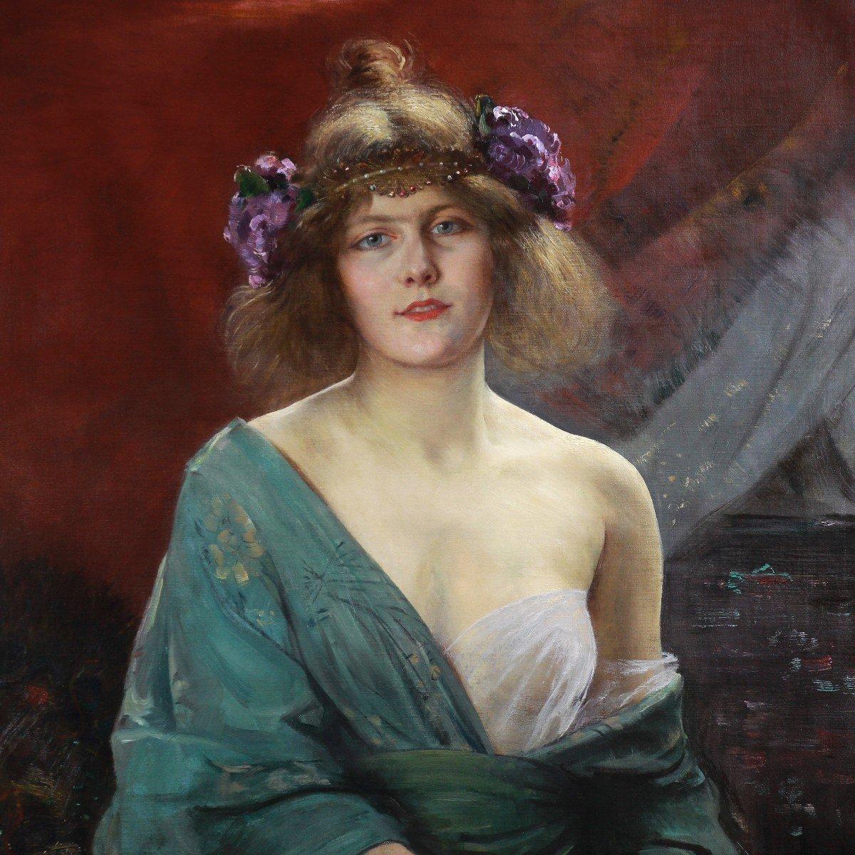 Alfred Stevens Portrait Art Nouveau -photo-1