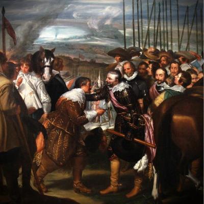 Tableau Scene Historique Huile Sur Toile Fin XIXème Cadre