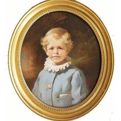 C1902 Pastel Portrait of  Viscount Castlerosse By Leon John Sprinck 1862-1948