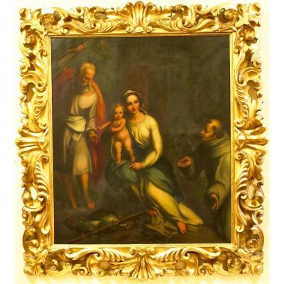 Intitulé Reste Sur La Fuite En Egypte Après Antonio Allegri Da Correggio (1489-1534)