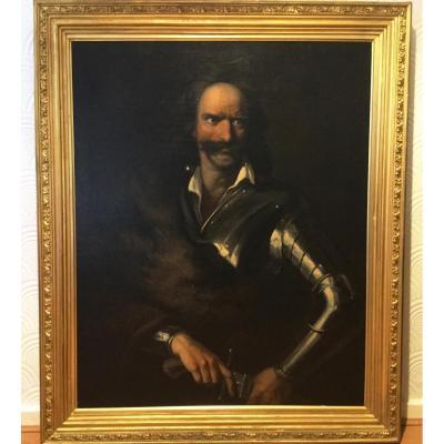 Portrait à l'Huile Du Prince Francis Rakoczi I De Transylvanie