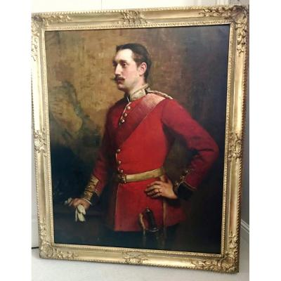 Lt.Dalison Scots Guards Par William Carter (le frère de Howard Carter découvre le tombeau de Toutankhamon)