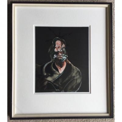 Francis Bacon Lithographie 1966 d'Isabel Rawsthorne