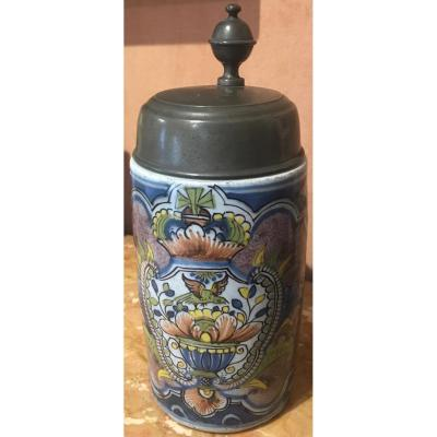 Chope faience allemande