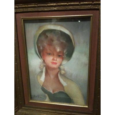 Portrait De Femme Par Guy Seradour