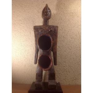 Statue Coupe Cérémonielle Koro Du Nigéria