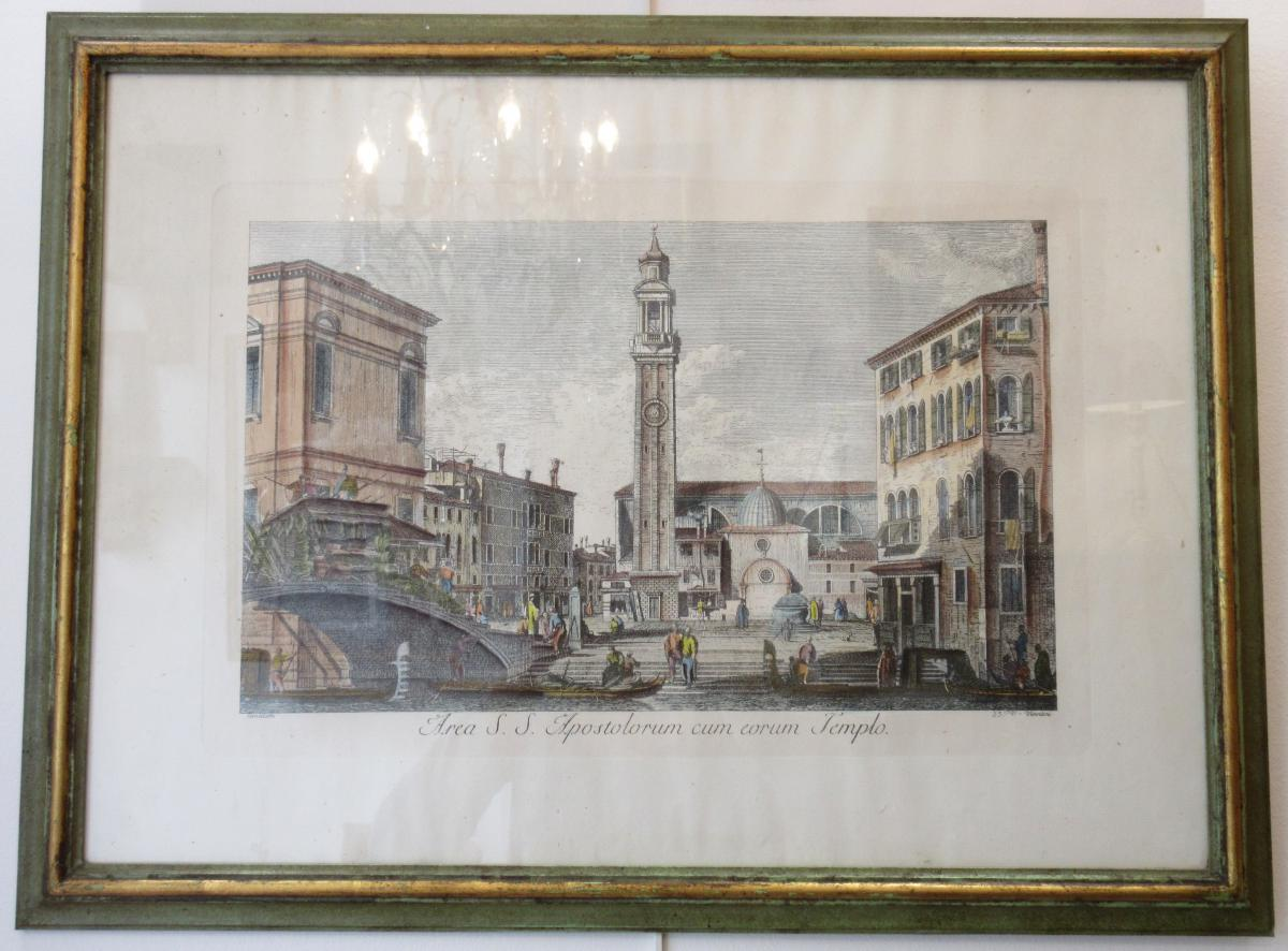 Engraving After Canaletto Venice