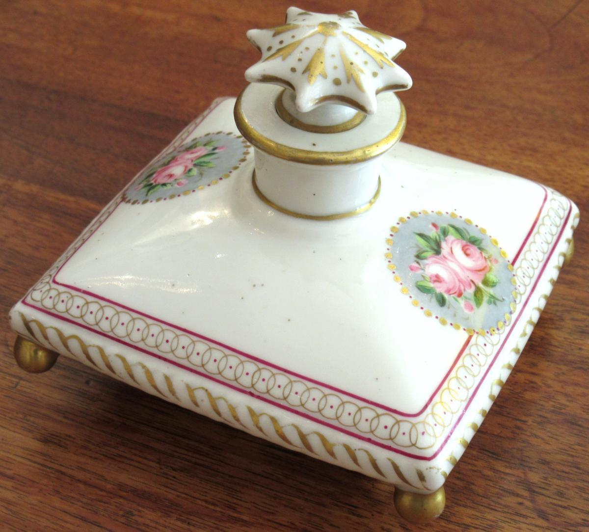 Flacon En Porcelaine Le Tallec