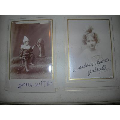 Sacha Guitry Child In St-petersburg - Balletta 50 Firm Photos Including Autographed