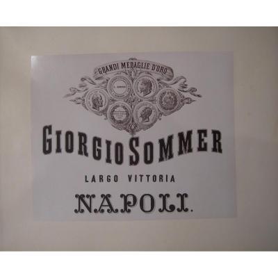 Napoli E Pompei - Album 40 Photographies Vers 1880