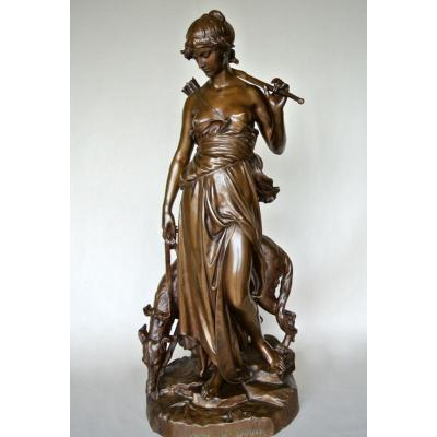 """""""Nymphe De Diane"""" par Eugène Aizelin"""