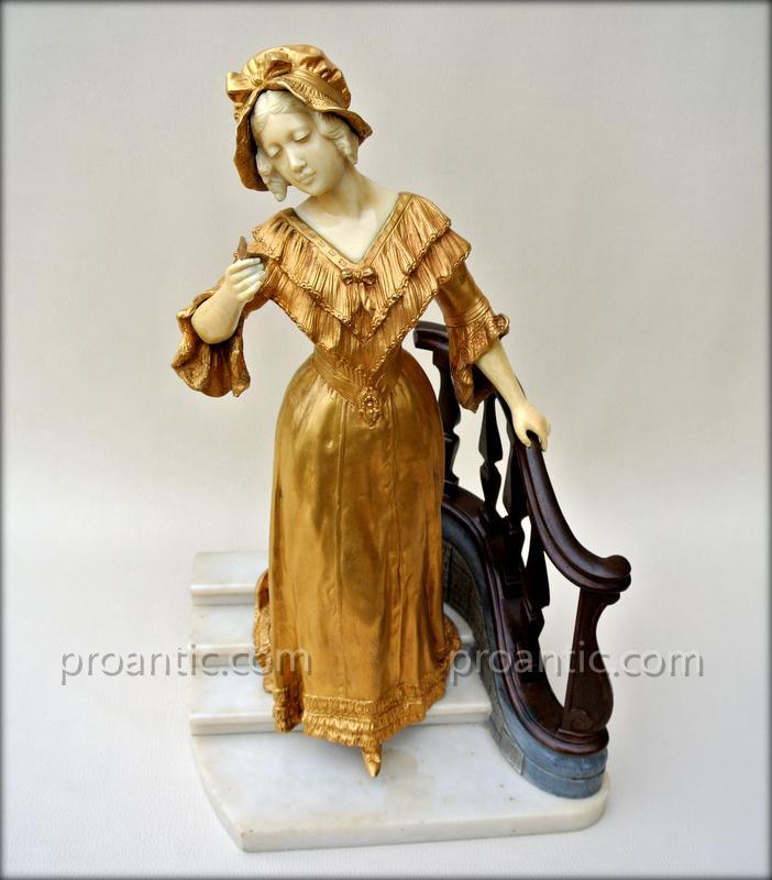 Statue signée Gory