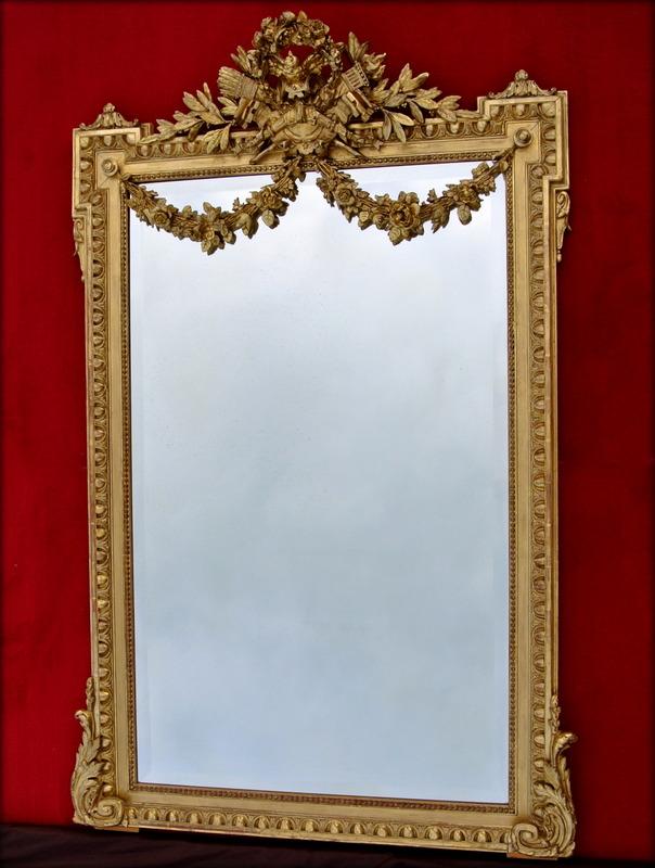 Miroir fronton 158 x 102 miroirs for Marc miroir kraft