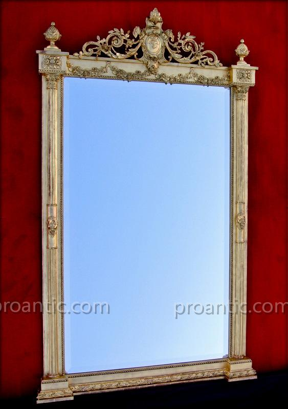 Miroir demi colonnes 183 x 109 miroirs for Marc miroir kraft