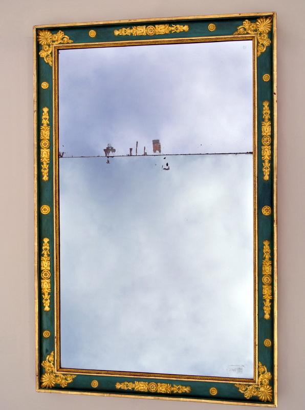 Miroir Aux Angles Vifs  134.5 X 87