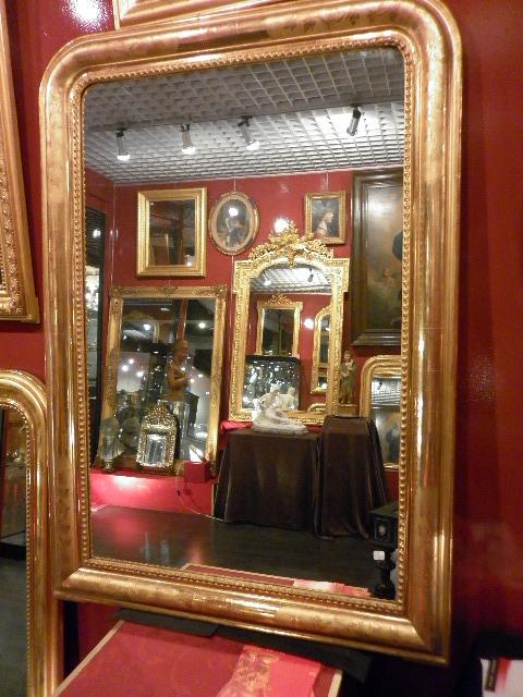 Miroir charles x or tous les objets de d coration sur for Miroir louis philippe prix