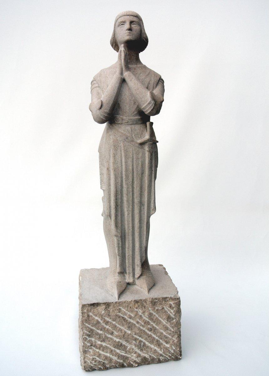 """""""Jeanne d'Arc""""  Sculpture de Georges Salendre"""