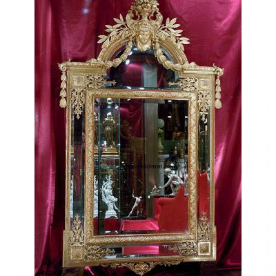 Grand Miroir Napoléon III à Parcloses