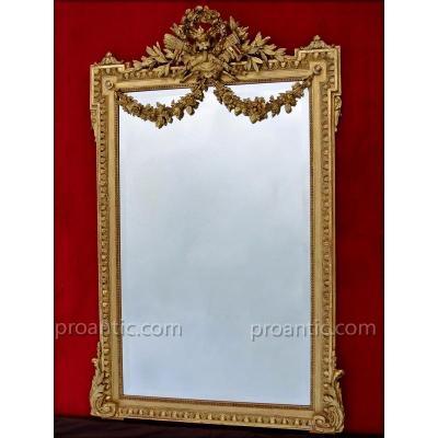 Miroir à Fronton 158 X 102