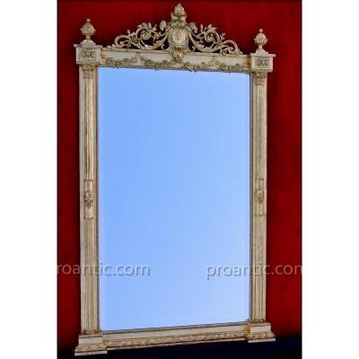 Miroir à Demi-colonnes 183 X 109