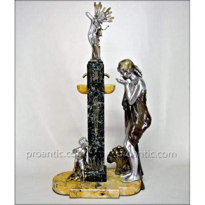 """""""la Fontaine De Cupidon"""" Par Charles Peyre"""