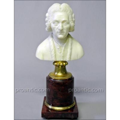 Petit Buste en marbre d'époque XIXème