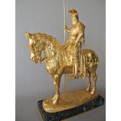 Louis d'Orléans Bronze Signé Frémiet
