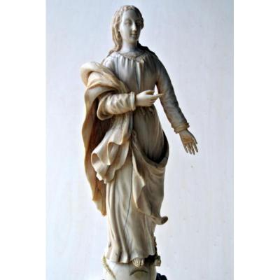 Ivory Virgin Mary