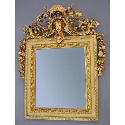 Mirror Fronton Nineteenth Time 158 X 125