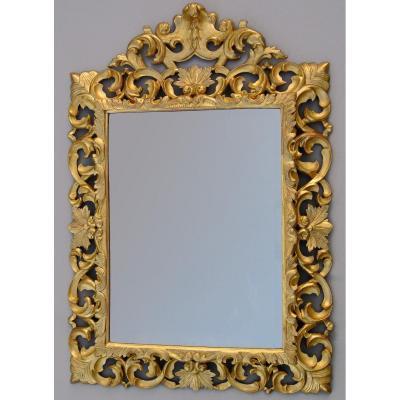 Miroir d'époque Napoléon III