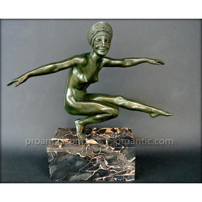 Danseuse  Art-déco