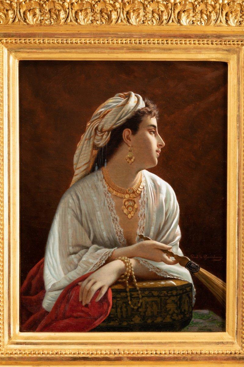 Louis Emile Pinel De Grandchamp (1820-1894) La Belle Orientale-photo-2