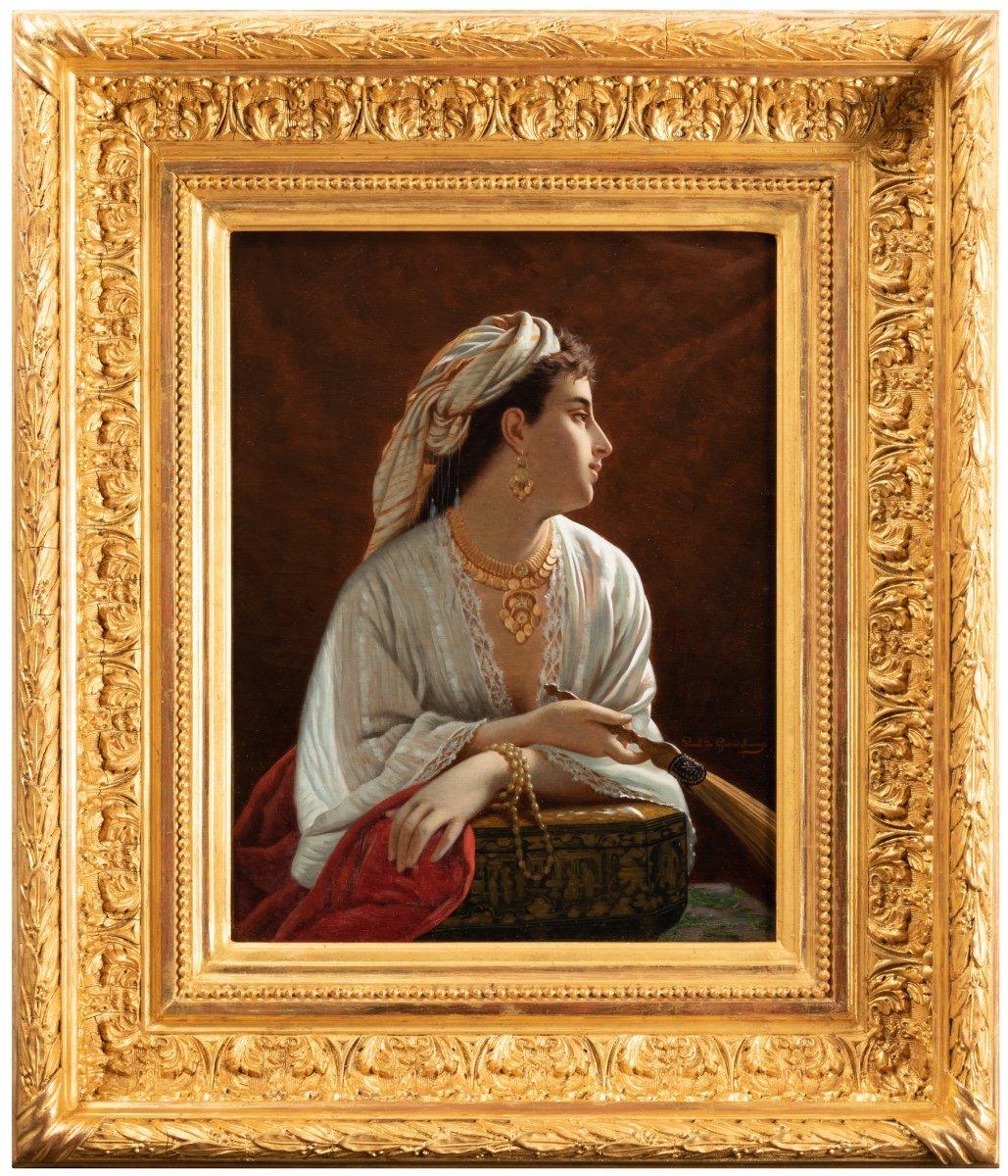 Louis Emile Pinel De Grandchamp (1820-1894) La Belle Orientale