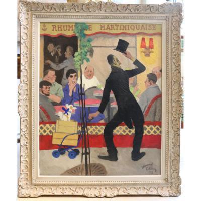 """ la rhumerie martiniquaise"" par Edouard Collin (1906-1983)"
