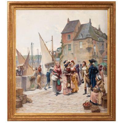 La Rencontre Galante Au Port.