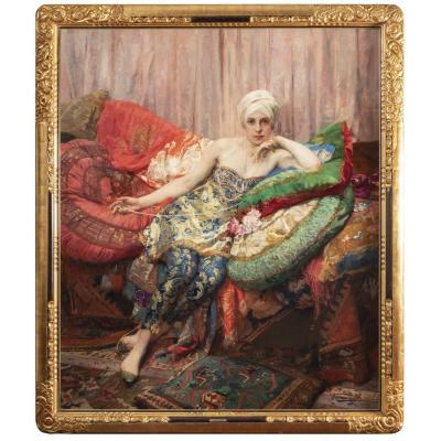 Herman Jean Joseph Richir (1866 - 1942) - La Rose d'Ispahan