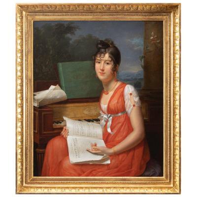 Adèle Romany (1769 – 1846), Portrait de  Melle Thevenet de Montgarrel