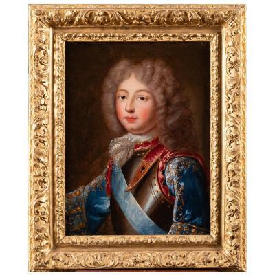 Portrait Dit Du Duc De Berry - École Française Vers 1700