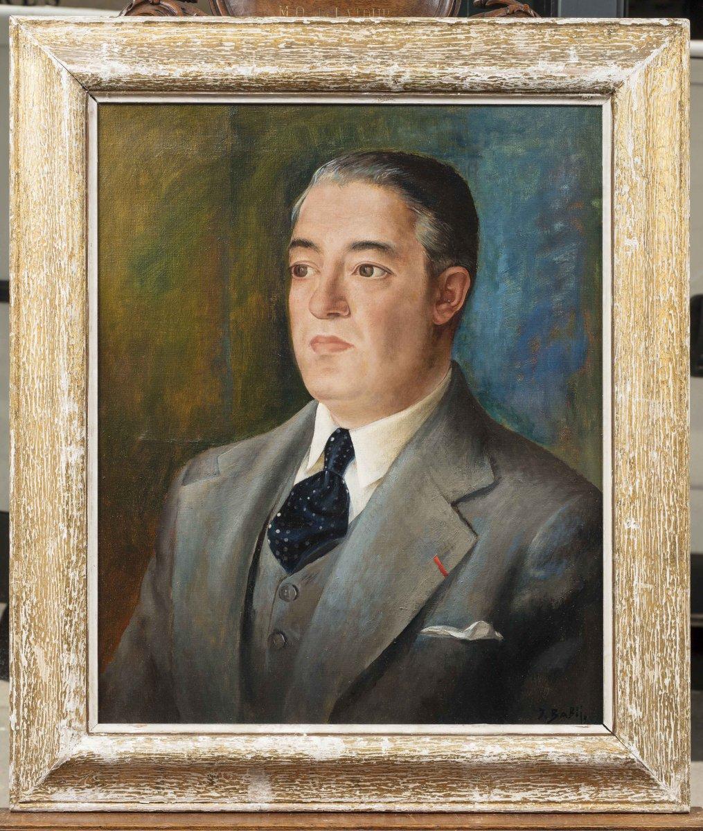Ivan Babij Иван Бабий (dobromirka 1893  – Après 1949) Portrait D'homme
